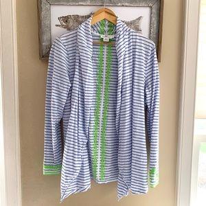 Vineyard Vines 🐳 Striped Cotton Cardigan